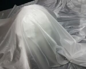 1oz/35gsm* - WHITE - SUPER LIGHTWEIGHT RIPSTOP TYPE NYLON FABRIC - 180cm wide