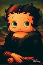 BETTY BOOP ~ MONA LISA 24x36 CARTOON POSTER Da Vinci NEW/ROLLED!