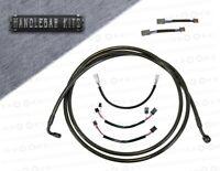 12 Throttle Cable Set for 2006 /& Newer Harley-Davidson Dyna Street Bob models HC-0341-0149-FXDB Black Vinyl Coated