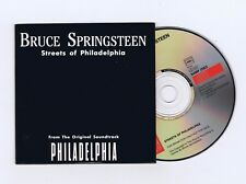 CD SINGLE PROMO BRUCE SPRINGSTEEN STREETS OF PHILADELPHIA