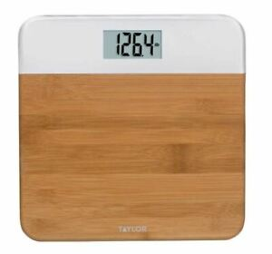 Taylor Digital Bamboo Body Scale