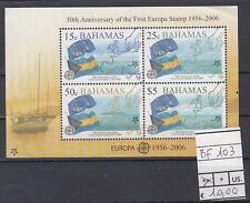 Bahamas 2007 Foglietto 50 anniversario 1 francobollo europeo Yvert  103 MNH