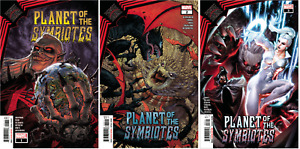 (2021) KING IN BLACK PLANET OF THE SYMBIOTES #1 2 3 COMPLETE SET! 1-3