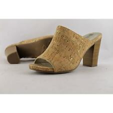 White Mountain Canvas Mules Heels for Women