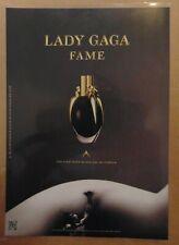 Actress Singer LADY GAGA FAME Perfume Fragrance Print Ad Advertising