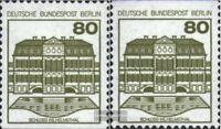 Berlin (West) 674C-674D (kompl.Ausgabe) gestempelt 1982 Burgen und Schlösser