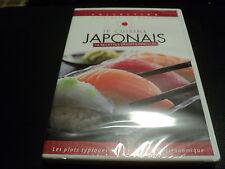 """DVD NEUF """"JE CUISINE JAPONAIS"""" 14 recettes traditionnelles"""