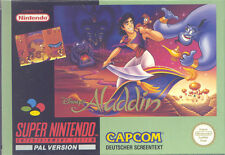 Super Nintendo SNES NES - Disneys Aladdin - TOP