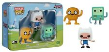 Funko - Pocket POP: Adventure Time 3 pack Tin - Jake, Finn, BMO