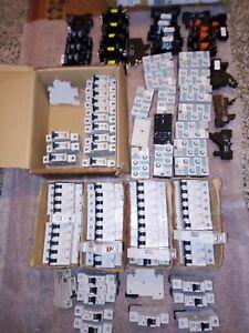 LOT LOTTO over 100 PCS interruttori magnetotermico/breaker  Relay / RELè sirius