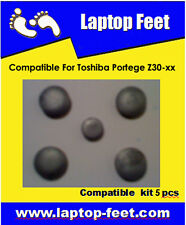 Laptop Feet for Toshiba Portege Z30 xx compatible kit ( 5 pcs self adhesive 3m)
