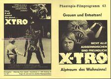PHILIP SAYER - XTRO * GERMAN HORROR MOVIE PROGRAM!
