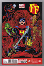 FF #5 - MIKE ALLRED ART & COVER - MATT FRACTION SCRIPTS - 2013