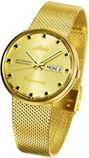 New MIDO COMMANDER MEN'S WATCH GOLD COLOR M842932213