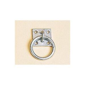 4 x Stubbs Tie Ring  Galvanised Steel Haynet Stable Horse Pony