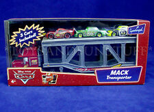 New MACK TRANSPORTER Hauler & CHICK HICKS McQueen LEAK LESS Pixar Cars TRUCK