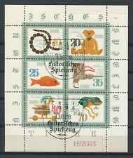 DDR ABART 2661/66 KLEINBOGEN SPIELZEUG 1981 QUETSCHFALTE ESStpl. TOP! a4668