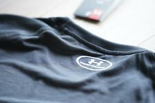 Under Armor Swyft Men's Running Short Sleeve Shirt, Black, Large