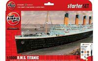 AIRFIX A55314 RMS Titanic Starter Set 1:1000 Ship Model Kit New & Sealed