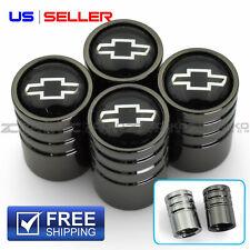 Valve Stem Caps Wheel Tire For Chevrolet Chevy 4Pc 2 Color Option - Ve93 Ve94