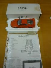 A Franklin mint 1989 Ferrari F40, boxed with paperwork.