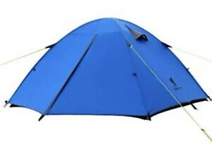 Brand new Geertop top road 3 3 Person 3 Season backpacking Camping tent blue