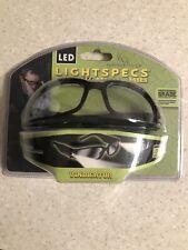 Panther Vision LIGHTSPECS Vindicator LED Lighted Safety Glasses Plastic Black