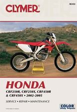 Honda  CRF250R (2004), CRF250X (2004) AND CRF450R 2002-2004 (Clymer Motorcycle R