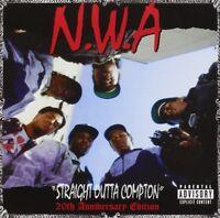 "N.W.A. ""STRAIGHT OUTTA COMPTON 20TH ANNIVERSARY"" CD NEW+"