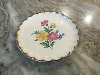Golden Floral by Nasco China BREAD & BUTTER PLATE, 22 Kt. Gold, USA