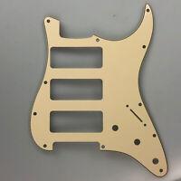 Guitar parts 3P-90 Stratocaster PICKGUARD for Fender Strat 3 P90, Vintage Yellow
