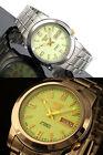 Seiko 5 Automatic Mens Watch Lumibrite Dial Japan Made SNKK19J1 UK Seller