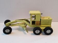 1958 Tonka Lime Green State Hi-Way Department Road Grader - Clean Original