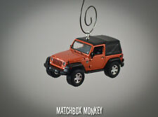 2014 Jeep Wrangler Unlimited Custom Ornament 1/64 Adorno SUV RARE Mango Tango