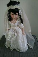 Rare Goldenvale Collection Porcelain Bride Girl Doll 1/2000