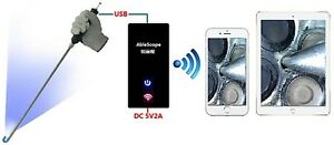 VA-400-WiFi Bundle: Vividia Ablescope VA-400 Borescope for for iPhone/iPad