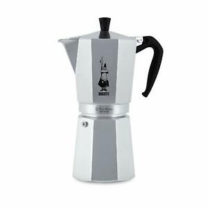 Bialetti Coffee Maker Moka Express 18 Cups Aluminium 30.4oz