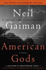 American Gods by Neil Gaiman (2011, Hardcover, Anniversary)