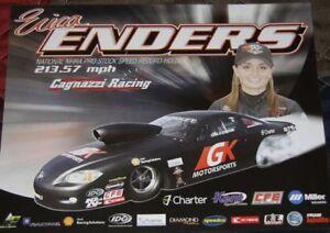 "2012 Erica Enders GK Motorsports ""1st Version"" Chevy Cobalt PS NHRA postcard"