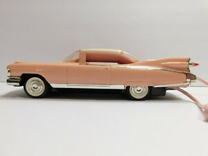 Vintage TeleMania 1959 Pink Cadillac Telephone Lights Up & Honks WORKS Landline