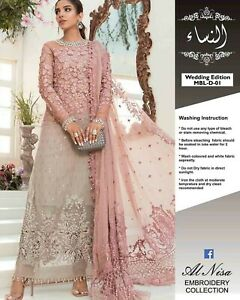 Maria b stitched wedding collection