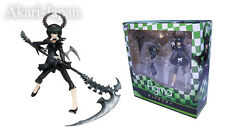 New Max Factory figma Black Rock Shooter Dead Master Painted PVC Action Figure