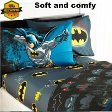 Batman Boys sheet sets for twin size bed very soft and comfy for Batman fan boy
