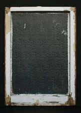 "24""x29"" Antique Vintage Wood Wooden Frame Sash Window Textured Glass Lite Pane"