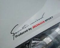☆New☆ Headlight Eyebrow Car Stickers Decals Graphics Vinyl For Honda (Black)