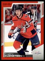 2020-21 UD O-Pee-Chee Red Border #130 Evgeny Kuznetsov - Washington Capitals