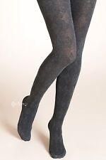 M&S 3x pair Ladies/girls  argyle Wool Tights  sizes S/M Grey autum/winter x3