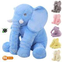 Peluche géante éléphant grand format 40 ou 60 cm en coton doudou enfant