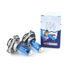 VOLVO 240 P244 55 W Super Blanco XENON HID Alta/Baja viga Headlight Bulbs Par