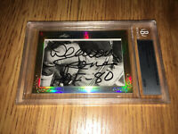 Deacon Jones 2013 Leaf Masterpiece Cut Signature autographed signed 1/1 JSA Rams